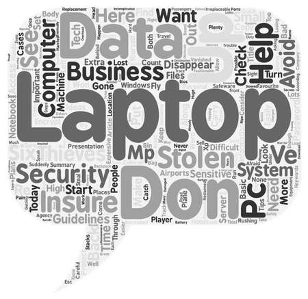 keep your hands: How to Keep Your Laptop Out of Thieves Hands text background wordcloud concept