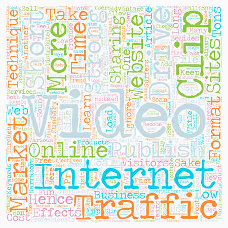 make summary: How To Make An Effective Short Video Clip To Market Your Business Online text background wordcloud concept