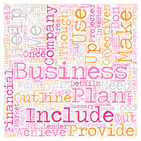 analysed: How To Create A Good Business Plan text background wordcloud concept