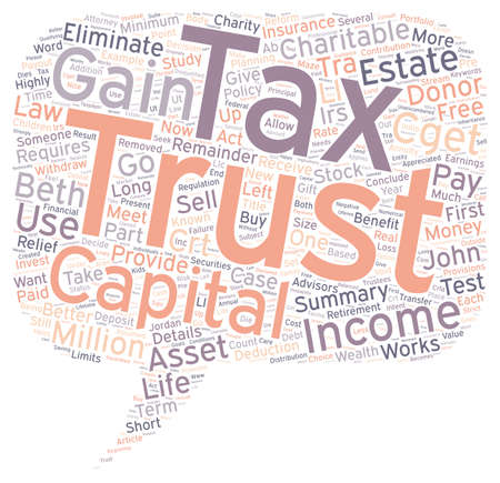 eliminate: How To Eliminate Capital Gains Tax text background wordcloud concept Illustration