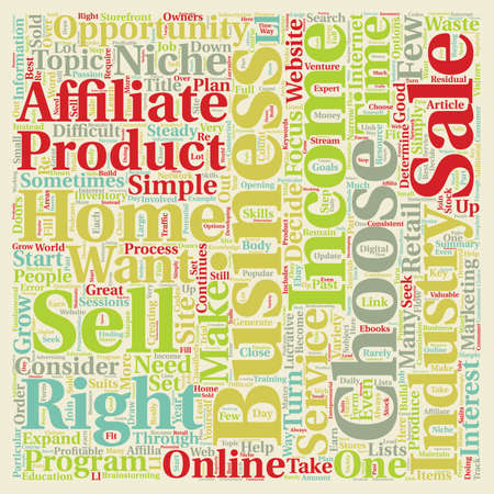 opportunity concept: How To Choose The Right Home Business Opportunity text background wordcloud concept