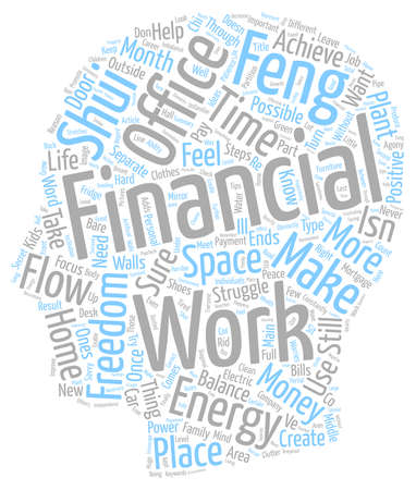 How To Create Financial Freedom text background wordcloud concept