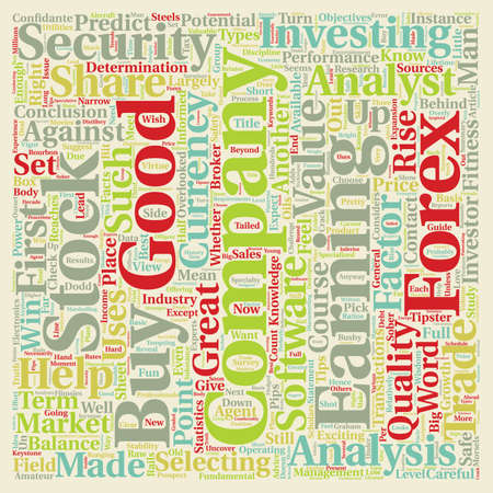 How To Choose A Good Share Or Currency To Trade text background wordcloud concept