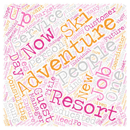 changed: How To Get In On The Adventure Ground Floor text background wordcloud concept