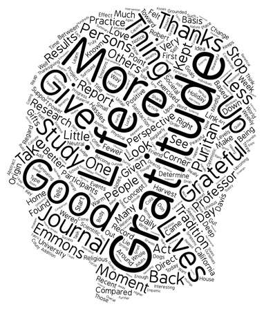 life change: How Gratitude Can Change Your Life text background wordcloud concept