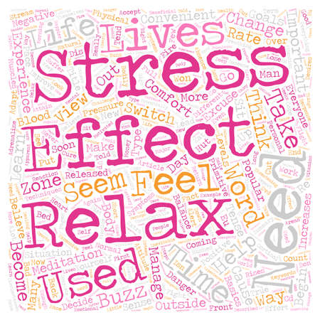 How stressed are you text background wordcloud concept