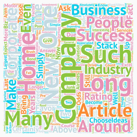 buisiness: How Long Will Your Home Biz Company Be Around text background wordcloud concept