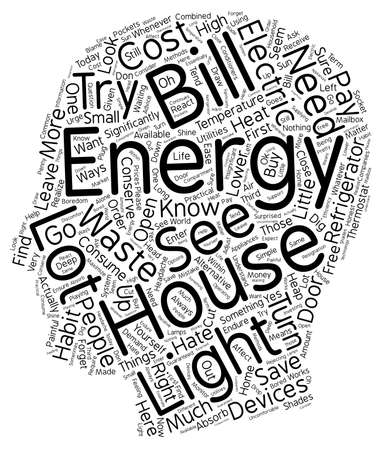 house energy ll 1 text background wordcloud concept