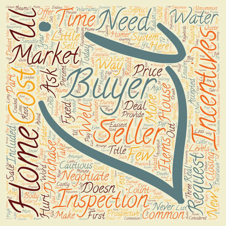 Home Buyer Incentives It Doesn t Hurt to Ask text background wordcloud concept