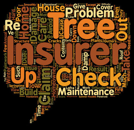 proceed: Home And Contents Insurance Poor Maintenance Can Invalidate Your Cover text background wordcloud concept