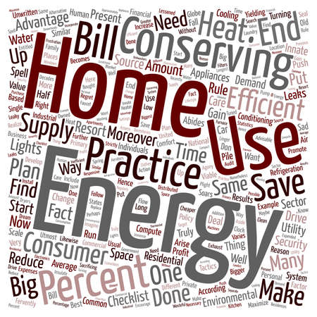 home energy ll 1 text background wordcloud concept