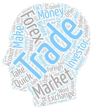 make summary: Forex Can You Make Some Quick Money text background wordcloud concept
