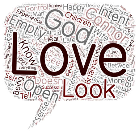 40 s: Do You Experience God text background wordcloud concept