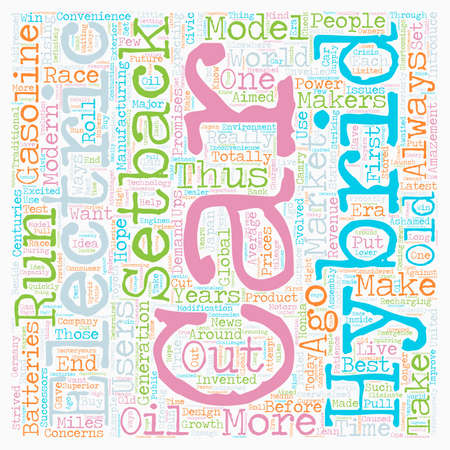 electric and hybrid cars2 text background wordcloud concept Çizim