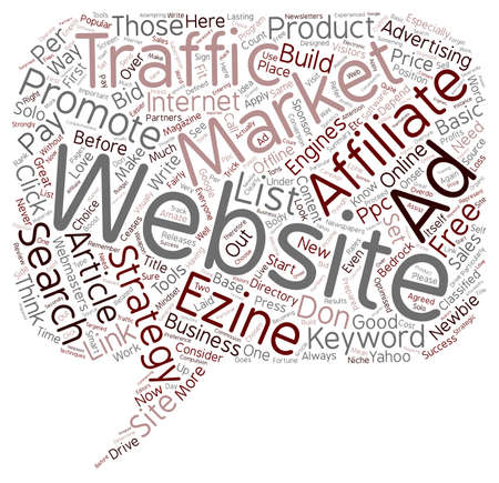 make summary: Don t Build That Website text background wordcloud concept