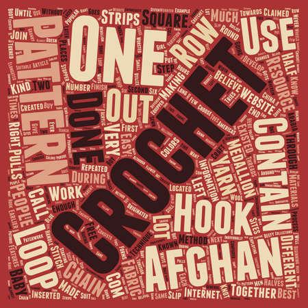 Kostenlos Häkeln Afghan Muster 1 Text Hintergrund Konzept Wordcloud ...