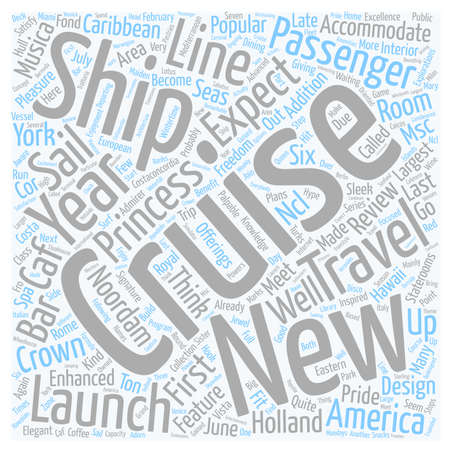 admirer: cruise ship reviews text background wordcloud concept