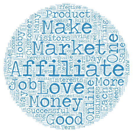 techniques: Crucial Tips And Techniques Required To Be An Affiliate Marketer text background wordcloud concept