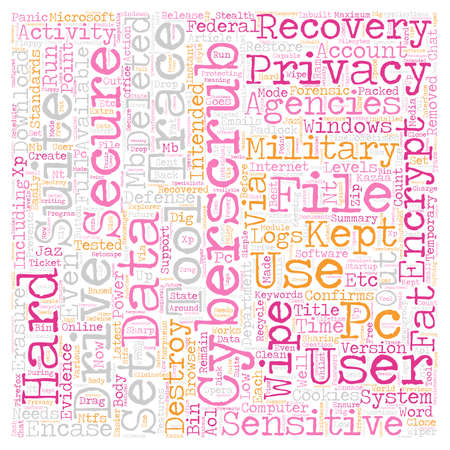 CyberScrub Privacy Suite text background wordcloud concept
