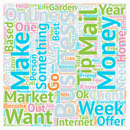 Did you know that it s ok to have and make money text background wordcloud concept Illustration