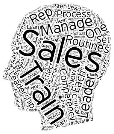 characteristics: Characteristics of a True Sales Leader text background wordcloud concept