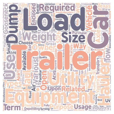 hauler: Car hauler Dump trailers Equipment trailer Gooseneck trailer Utility trailer text background wordcloud concept