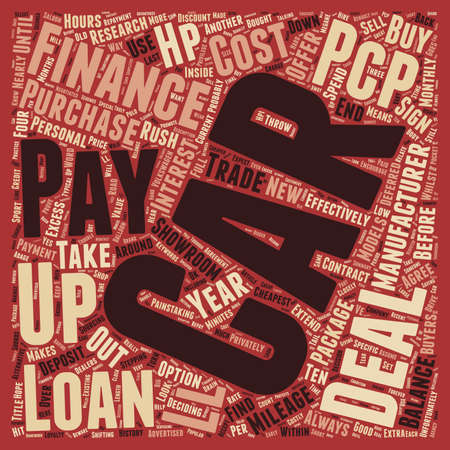 car loans: Car Loans Drive Down The Cost text background wordcloud concept