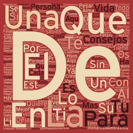 para: Consejos Sabios para Lenar el Alma text background wordcloud concept