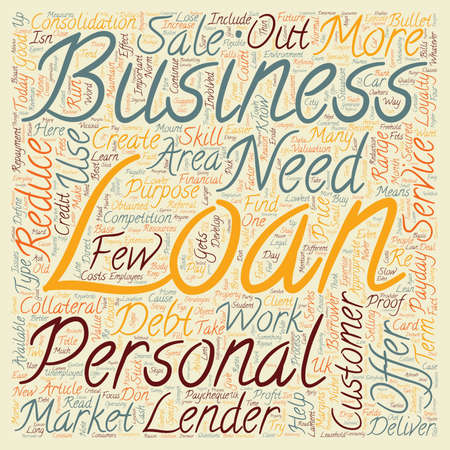 lenders: Bullet proof Your Business text background wordcloud concept Illustration