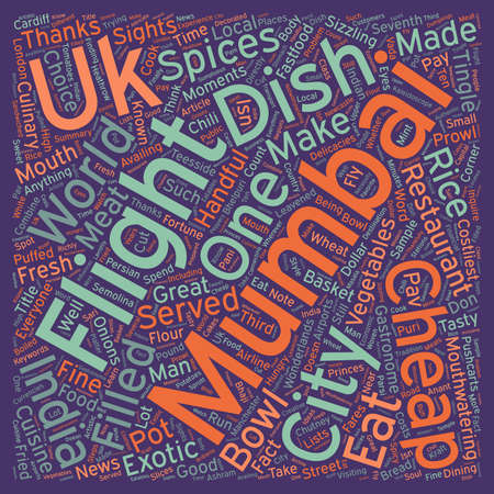 make summary: City For The Hungry Mumbai text background wordcloud concept