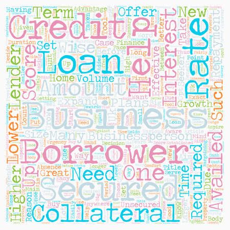 Business Loan An Effective Tool for Growth text background wordcloud concept