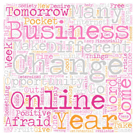 Change The Way You Think And Put Big Change In Your Pocket text background wordcloud concept