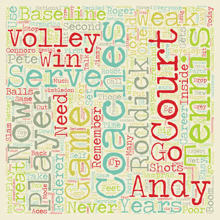 slam: Can Andy Roddick Win Another Slam text background wordcloud concept