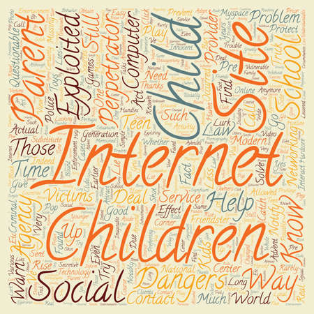 pre adolescent child: BWI know who you should contact text background wordcloud concept