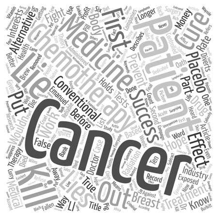 impoverish: Cancer Lies Impoverish You Before You Die part text background wordcloud concept Illustration