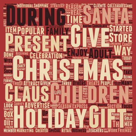 Christmas Article 39 text background wordcloud concept