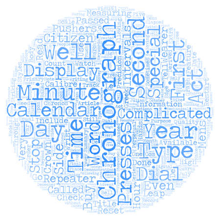 cronógrafo: Relojes cronógrafo de texto concepto de fondo wordcloud