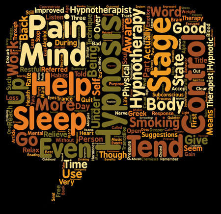 hypnotherapy: Hypnotherapy Free Your Mind and Soul text background wordcloud concept