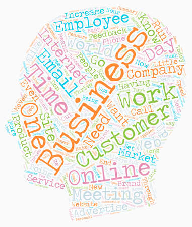 How to Survive and Thrive Your Business Online text background wordcloud concept