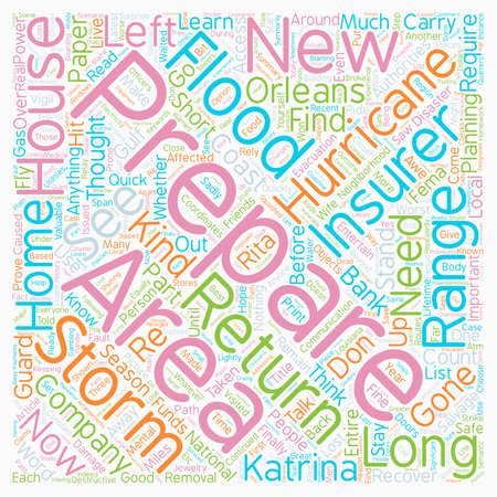 Hurricane Season How Can You Prepare for It text background wordcloud concept