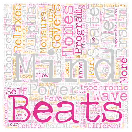 How to unlock the hidden powers of your subconscious mind text background wordcloud concept