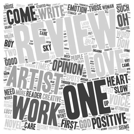 first house: How To Survive A Good Review text background wordcloud concept