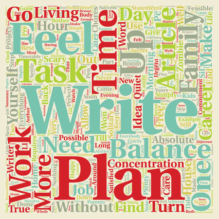 absolute: Balance your life text background wordcloud concept