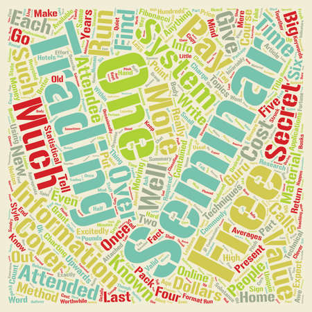 attended: Beware Of High Cost Seminars text background wordcloud concept Illustration