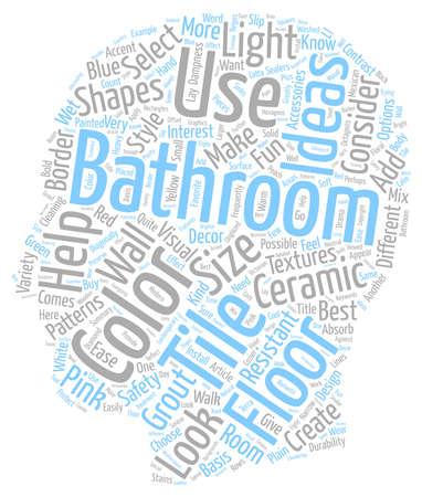 Badezimmer Fliesen Ideen Für Badezimmer Bodenfliesentexthintergrund  Wordcloud Konzept Standard Bild 67972894