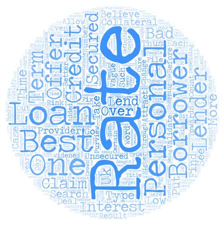 Mejor préstamos a tipo personal Uno de los más buscados después Ofrece el texto wordcloud concepto de fondo Foto de archivo - 67972798