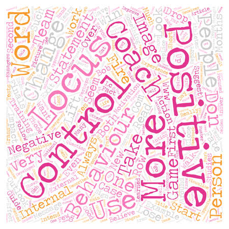 Are You Positive or Negative Does Your Behaviour Impact Those Around You And Can You Change It text background wordcloud concept