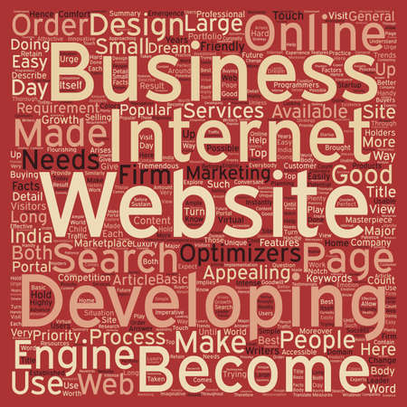 requirement: Basic Facts on Website Requirement text background wordcloud concept