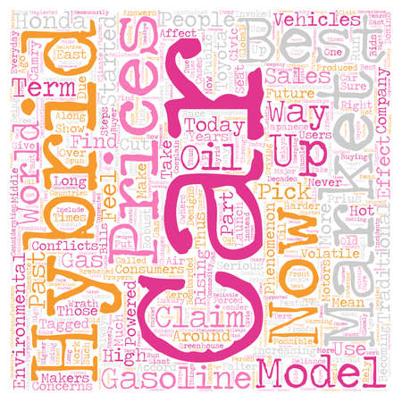 rising prices: best hybrid cars 1 text background wordcloud concept