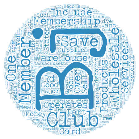 wholesale: BJ s Wholesale The Club That Helps To Save Money text background wordcloud concept